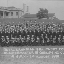 SeaCadetsCorpQuartermasterIIIQualifyingClass4July-20August1955GeorgeM.Beeler